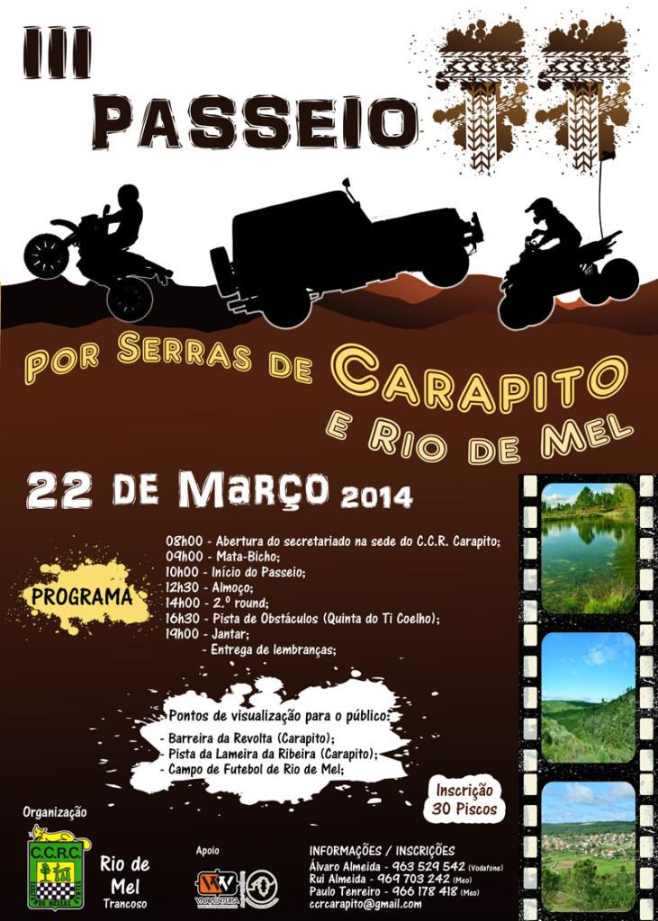 Cartaz TT Carapito net
