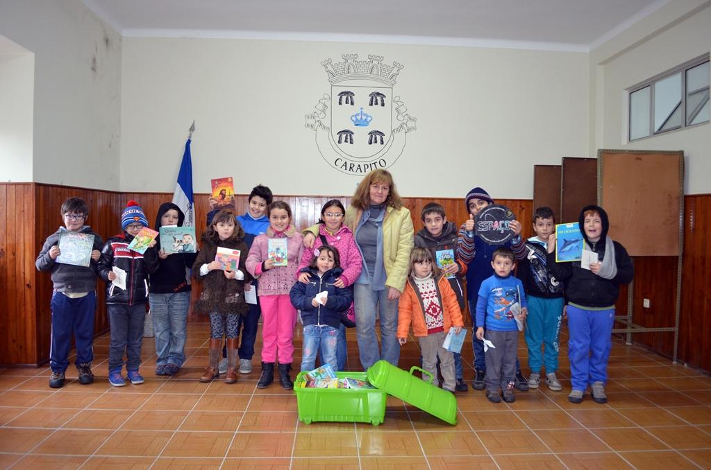 O Clube de Leitura Os Foralitos.