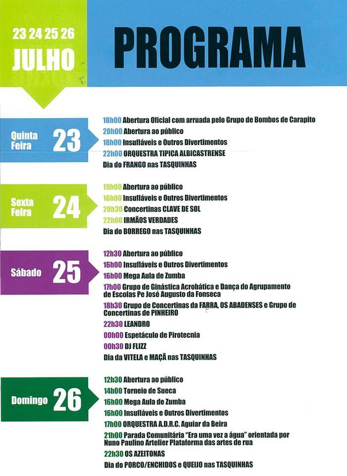 Feira das Atividades Económicas Aguiar da Beira 2015 a