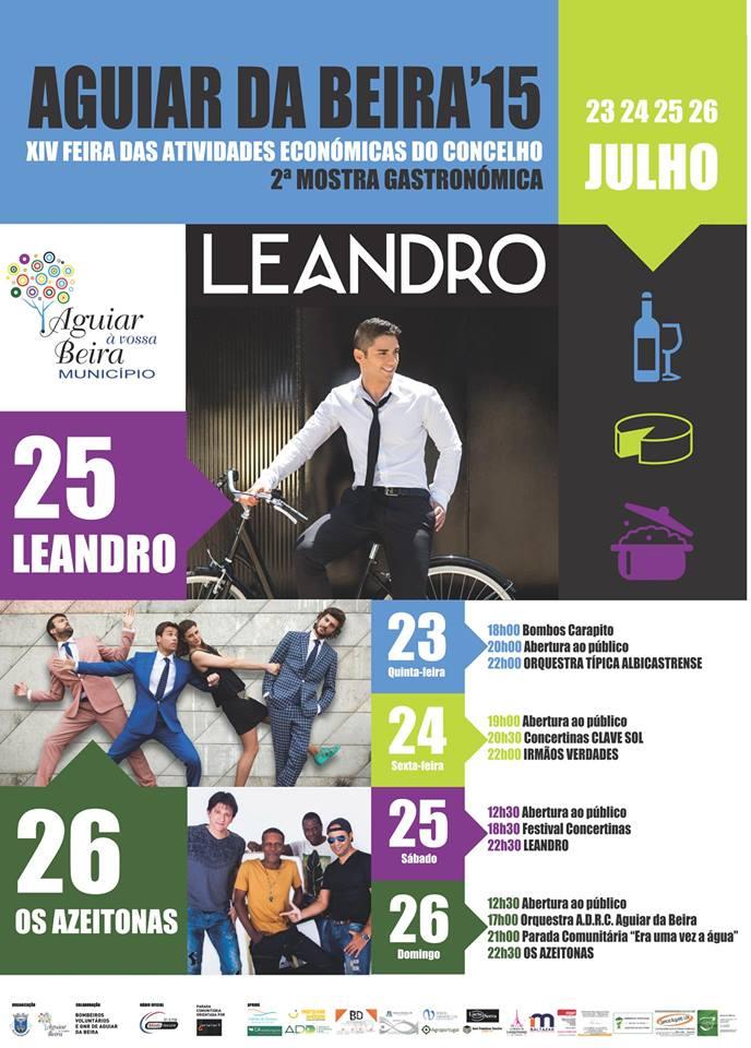 Feira das Atividades Económicas de Aguiar da Beira 2015