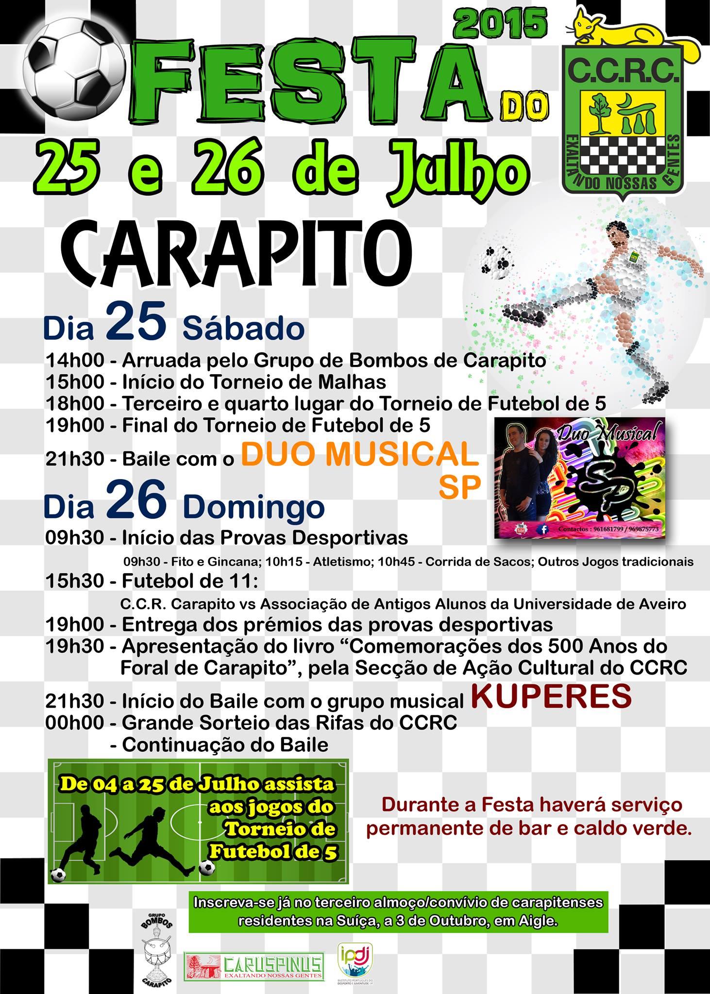 Festa do CCRC 2015