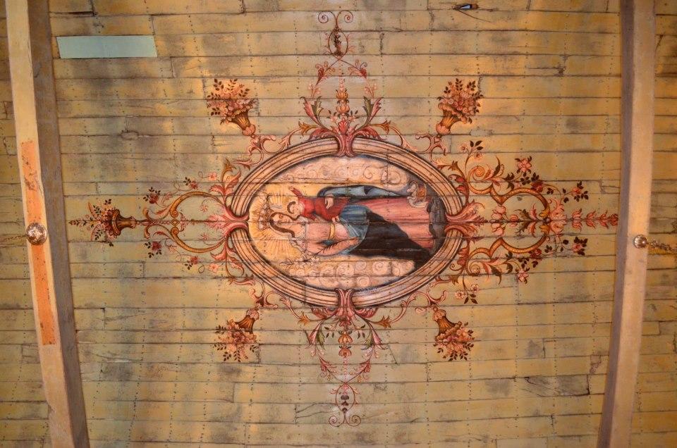 Tecto Igreja Carapito 1