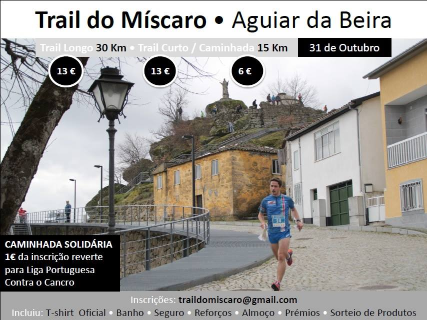 2º Trail do Míscaro Aguiar da Beira