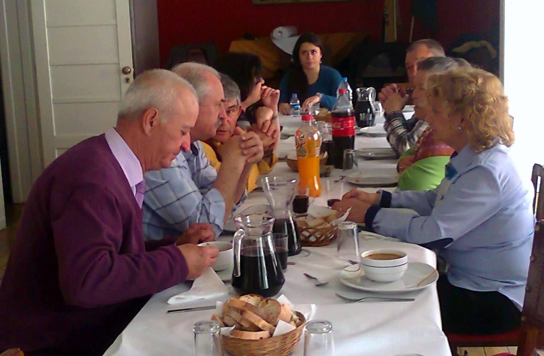 Almoço de comemoração do aniversário da Casa das Beira (foto de António Nascimento Almeida).