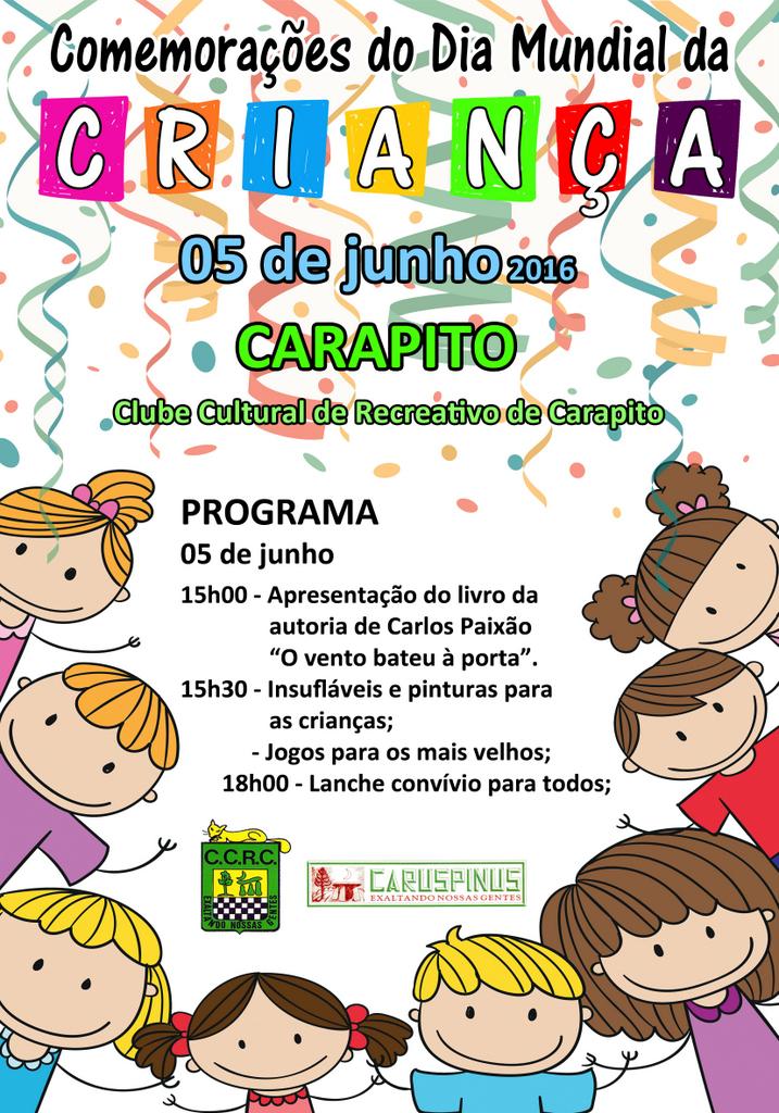 Comemorações Dia Mundial da Criança 2016