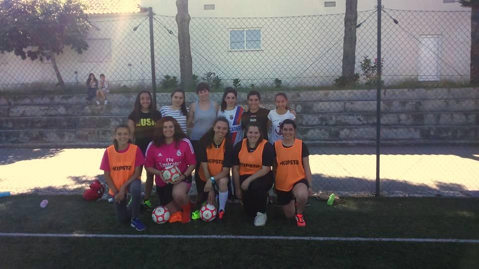 Equipa de futsal feminino da ADRC Penaverdense (foto ADRC Penaverdense).