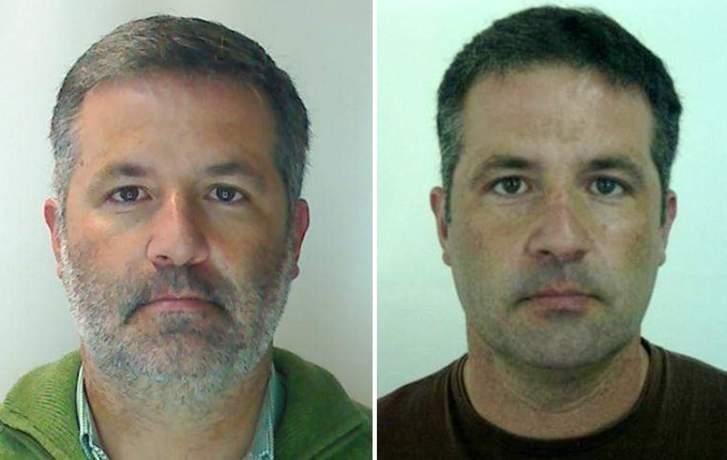 Fotografias de Pedro Dias divulgadas pela polícia Portuguesa.