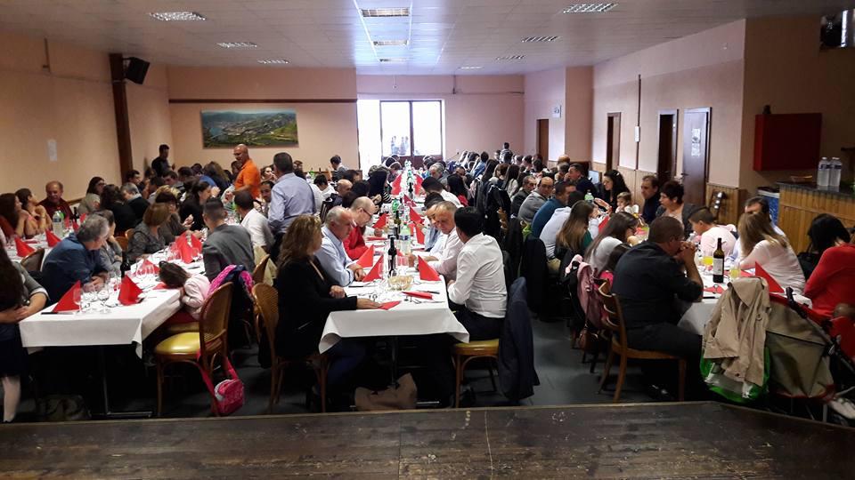 Participantes do quarto almoço-convívio de Carapitenses na Suíça (foto de Paulo Lopes).
