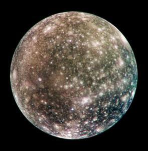Calisto, lua de Júpiter
