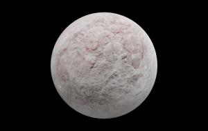 Eris (planeta anão), modelo 3D