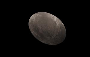Haumea (planeta anão), modelo 3D