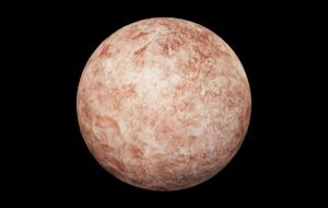 Makemake (planeta anão), modelo 3D