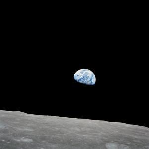 A Terra a partir da Lua. Apollo 8