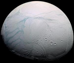 Encelado, lua de Saturno