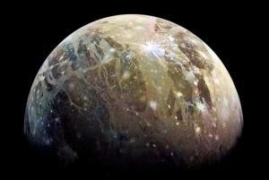 Ganimedes, lua de Júpiter